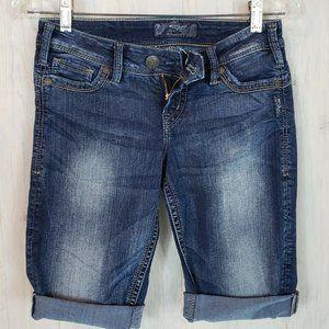 Silver Jeans Camden Rose Bermuda Shorts Si…